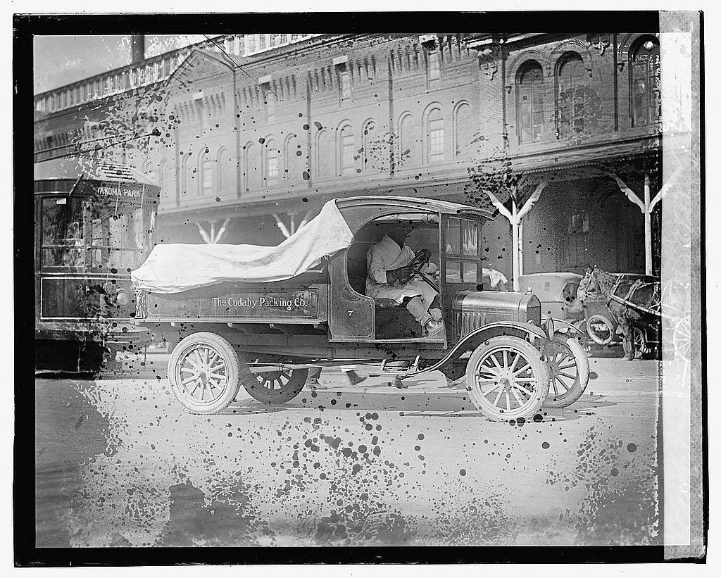Cudahy Packing Co., Ford truck