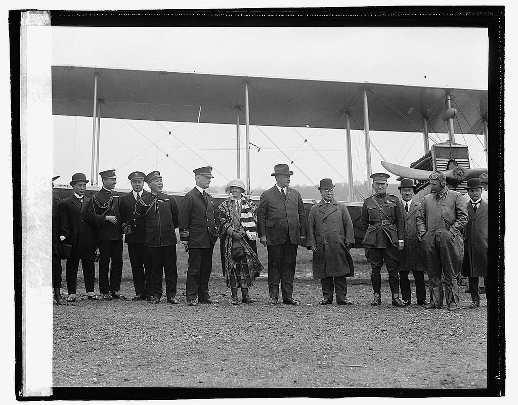 Denby at Bolling field, [4/30/23]