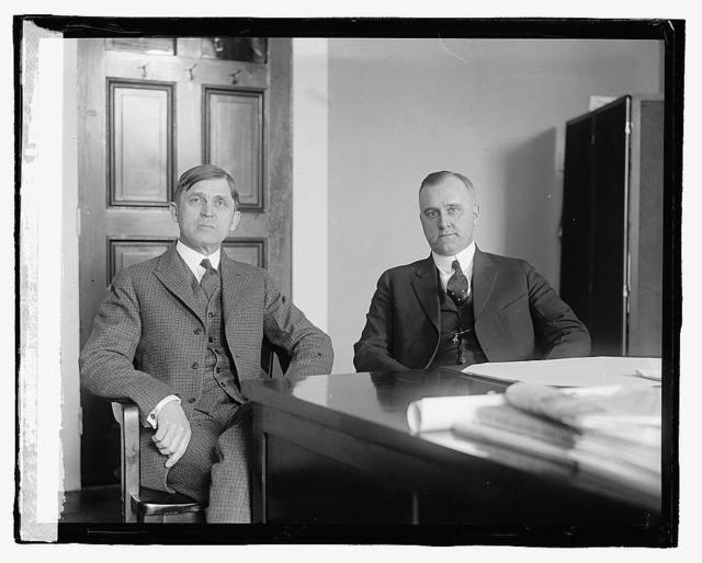 Elmer S. Sanders, Merton L. Corey