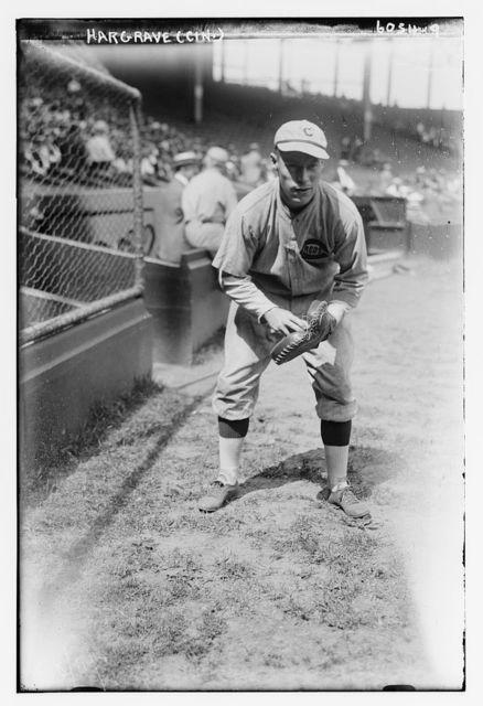 "[Eugene ""Bubbles"" Hargrave, Cincinnati NL (baseball)]"