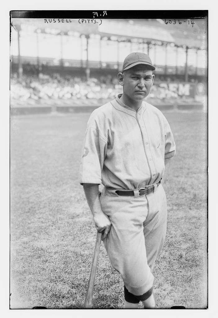 "Ewell ""Reb"" Russell, Pittsburgh NL (baseball)"