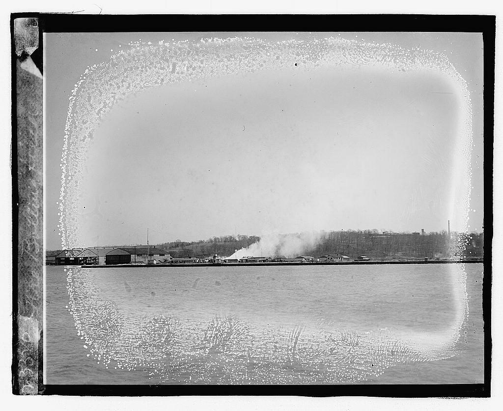 Fire, Bolling field, [3/31/23]