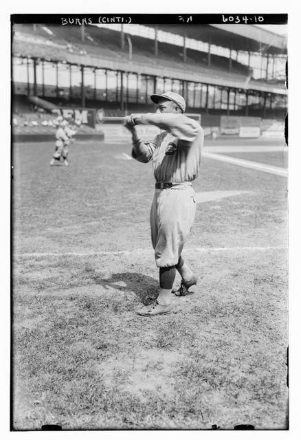 [George J. Burns, Cincinnati NL (baseball)]