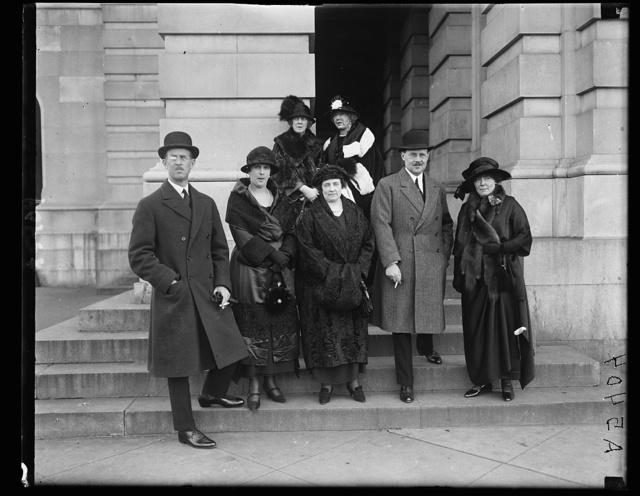 Greek Royal family at Capitol [Washington, D.C.]