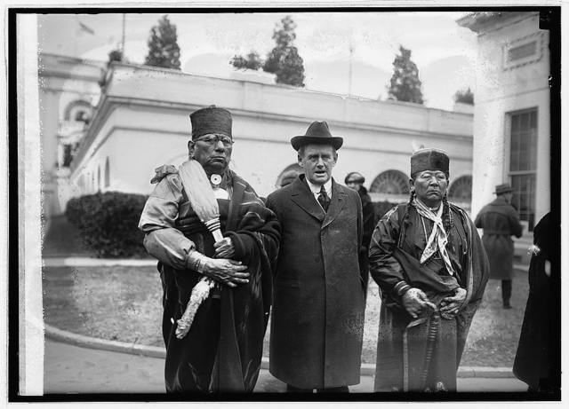 Indian Com. Burke & Ossage [i.e., Osage] Chiefs, [1/10/23]