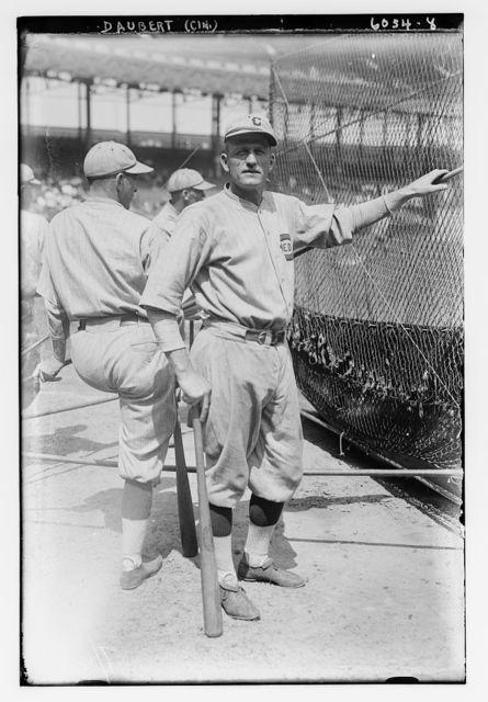 [Jake Daubert, Cincinnati NL (baseball)]
