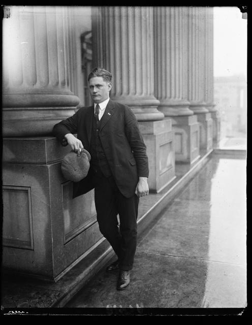 John C. Schafer of Milwaukee [U.S. Capitol, Washington, D.C.]