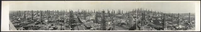 Long Beach oil field, California, May, 1923