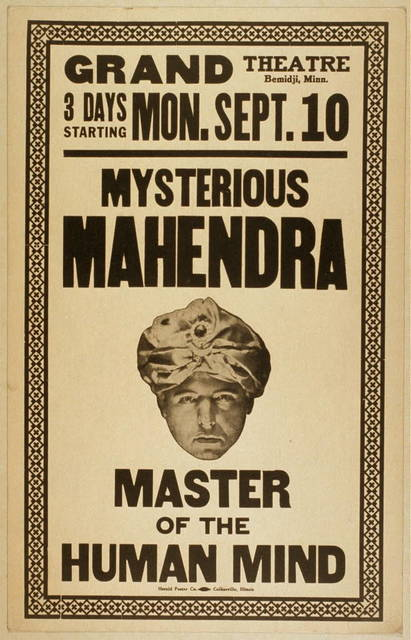 Mysterious Mahendra master of the human mind.