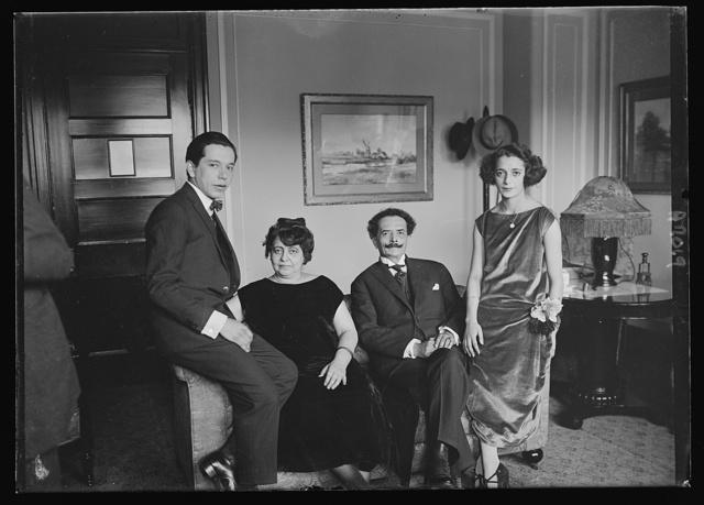 New Bolivian Minister Senor Ricardo Juanes Freyre and family