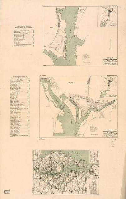 Port facilities at Washington D.C. & Alexandria, Va. /