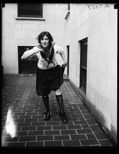 [...]ria Selden rehearsing for the Revue [...]