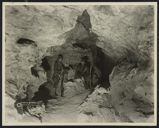 Robber Barons Cave / Harvey Patteson.