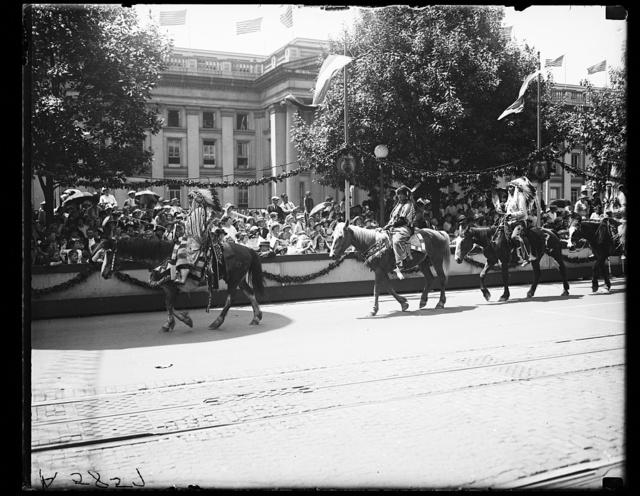 [Shriner Parade, Washington, D.C.]