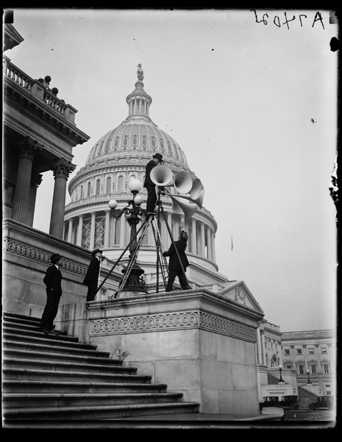 [Speakers at U.S. Capitol, Washington, D.C.]