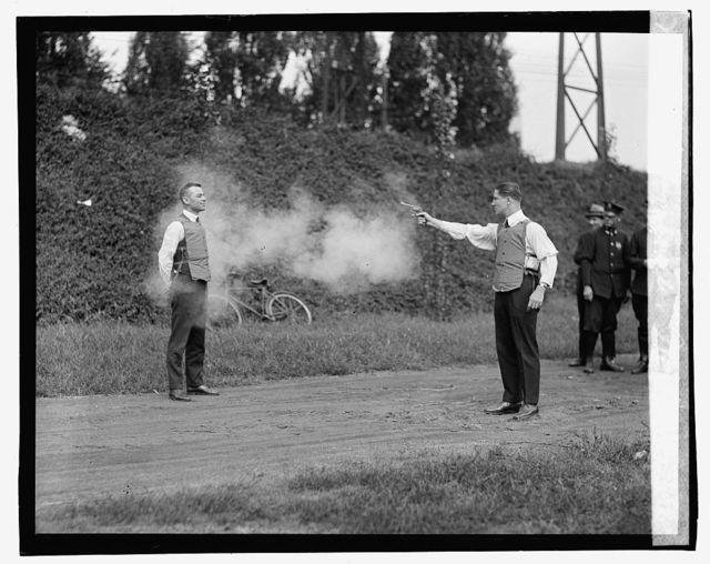 Testing bulletproof vest, [9/13/23]