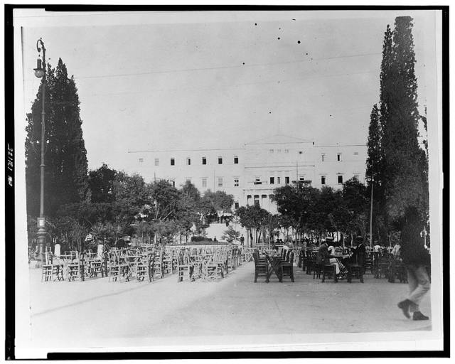 The old palace of Athens, now the headquarters of the Near East Relief Commission which here cares for [a] thousand orphans