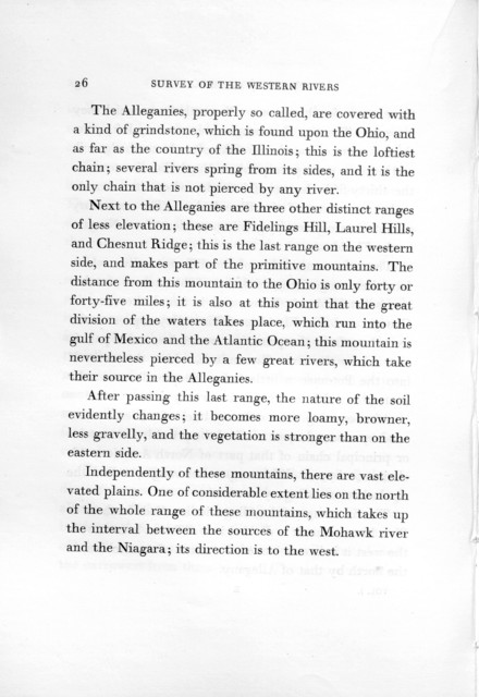 A journey in North America, containing a survey of the countries watered by the Mississippi, Ohio, Missouri, and other affluing rivers ..., volume 1