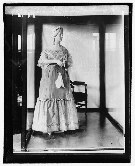Abigail Powers Fillmore [inaugural dress from First Ladies Collection], [9/3/24]