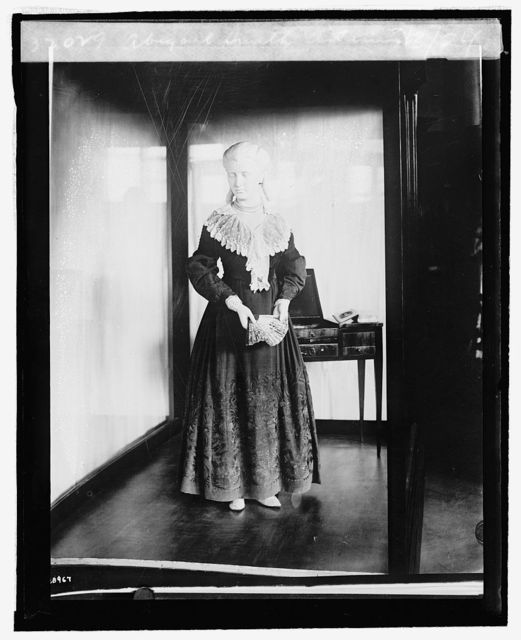 Abigail Smith Adams [inaugural dress from First Ladies Collection], 9/[3/24]