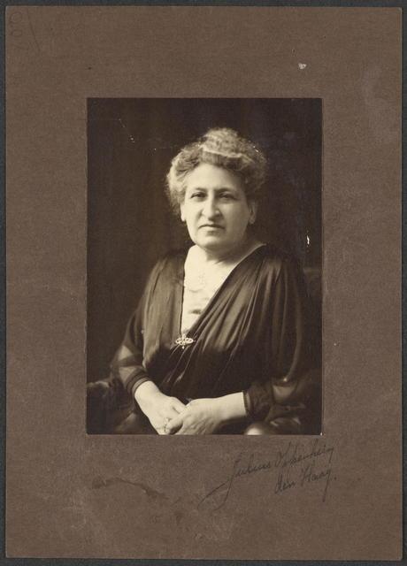 Aletta Jacobs.