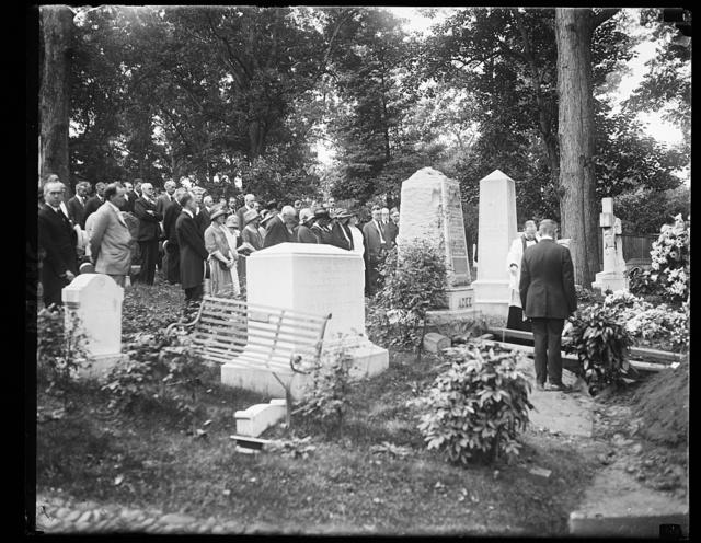 Alvan [i.e., Alvey] A. Adee's funeral