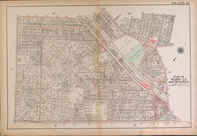 Atlas of the city of Boston, West Roxbury : from actual surveys and official plans /
