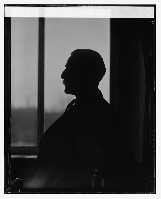 A.W. Mellon [silhouette]