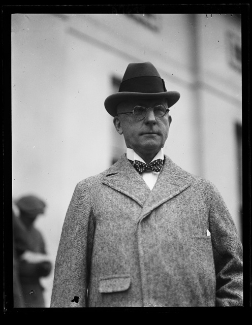 B. Ogden Chisolm, recently appointed Internat'l Prison Commissioner by Coolidge [White House, Washington, D.C.]