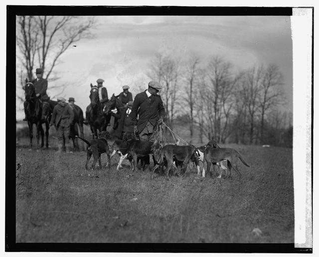 Brightwood Hunt Club, Lewis Bolden, Master of Hounds