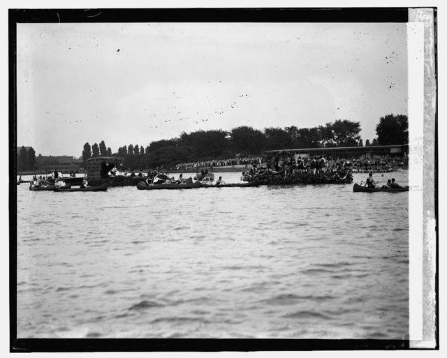 Canoe Regatta and Water Carnival, Tidal Basin, [8/4/24]