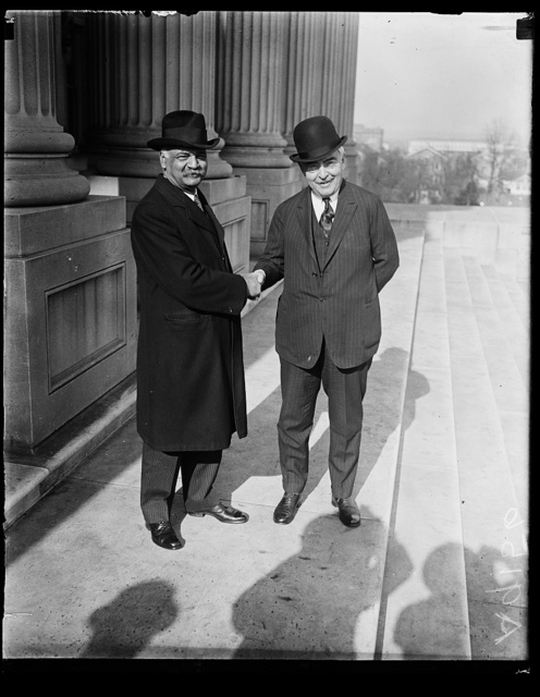 [Charles Curtis, left]
