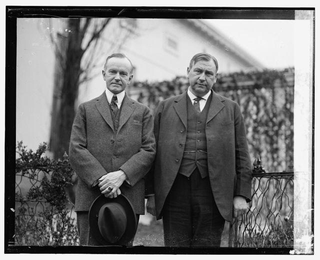 Coolidge & Harlan F. Stone