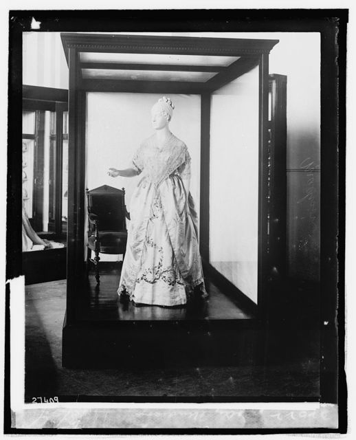 Dolly Madison [inaugural dress from First Ladies Collection], 9/3/[24]