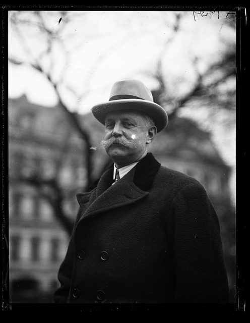 Francis Edward [...] Amer. Chamber of Commerce in London at the W.H. [i.e., White House]