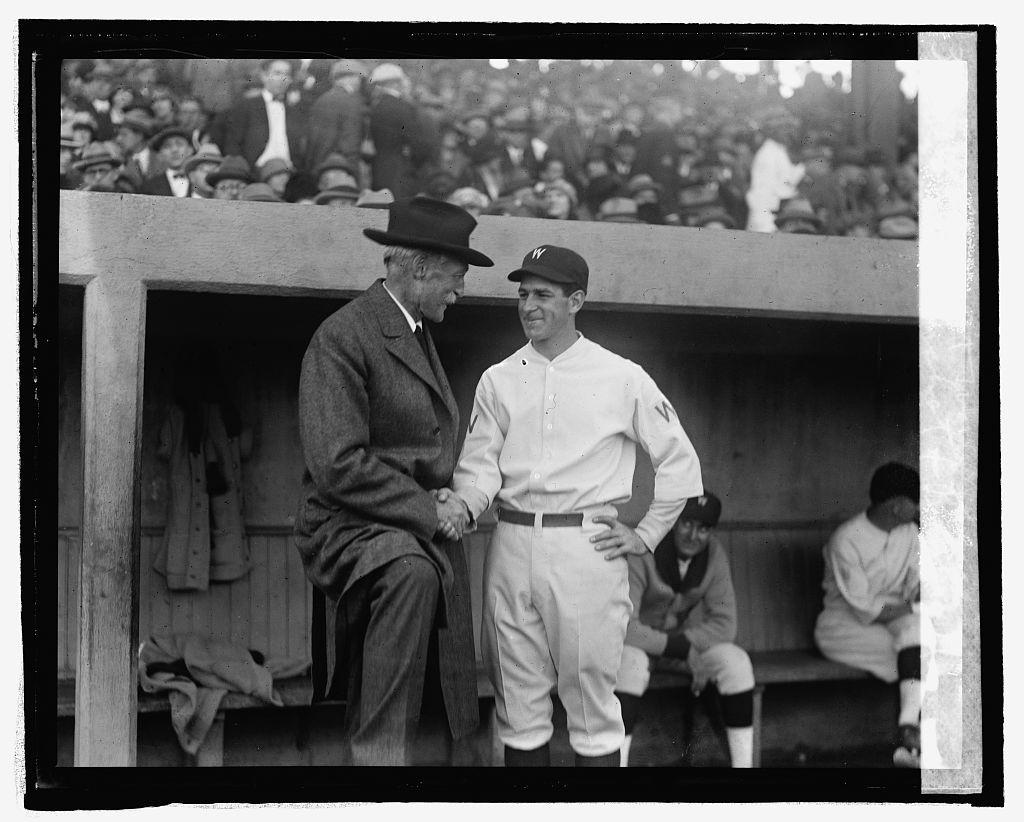 Gov. Pinchot & Bucky Harris at World Series, [10/9/24]