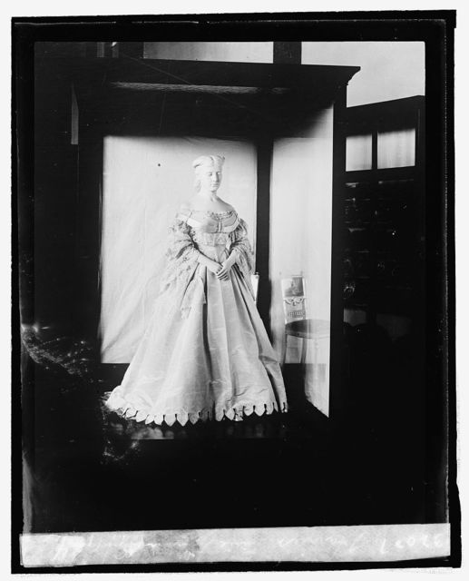 Harriet Lane Johnston [inaugural dress from First Ladies Collection, 9/3/24]