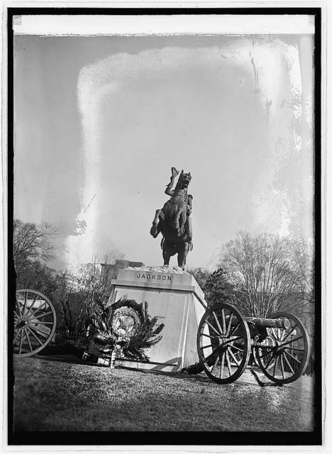 Jackson statue, [1/8/24]
