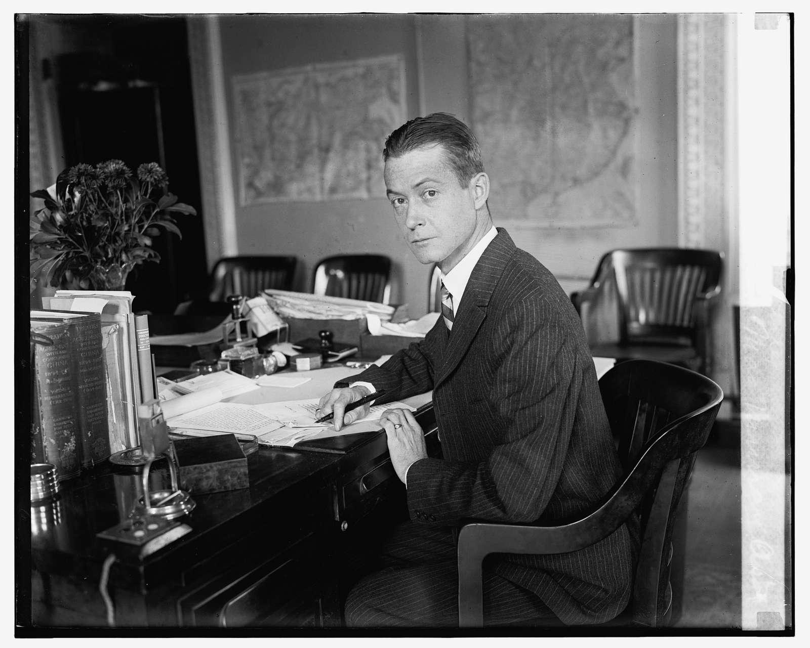 John Van A. MacMurray, Asst. Sec. of State, 112224