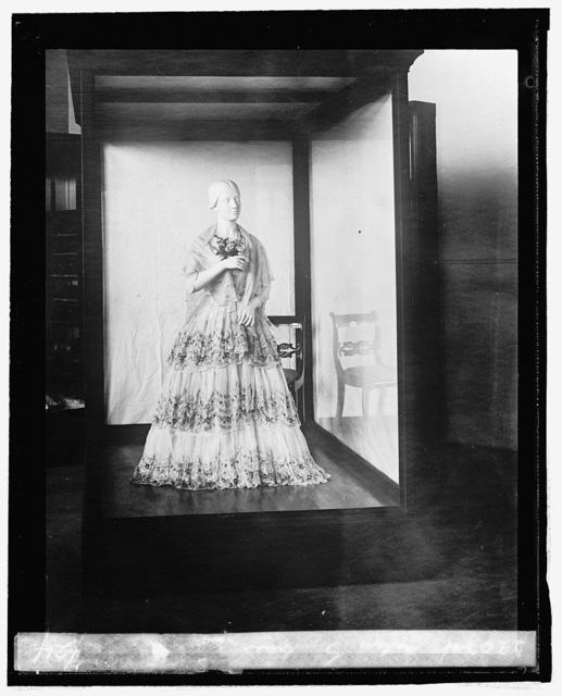 Julia Gardiner Tyler [inaugural dress from First Ladies Collection, 9/3/24]