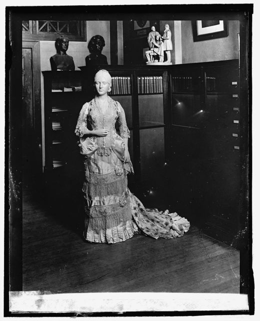 Lucy Webb Hayes [inaugural dress from First Ladies Collection], 9/3/[24]
