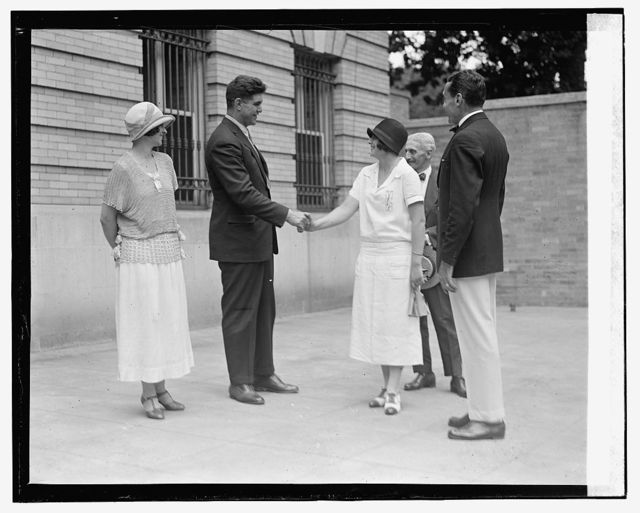 Luis Firpo at Argentine Embassy, [7/25/24]