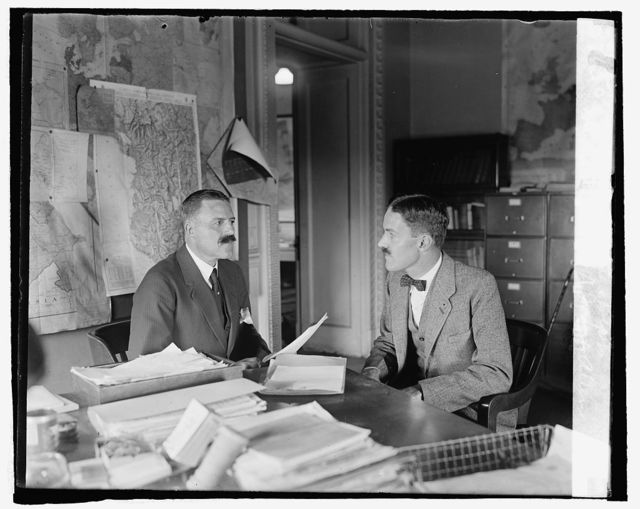 Minister Peter A. Jay & Allen Dulles of State Dept., [9/23/24]