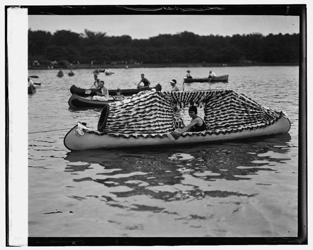 Mrs. C.B. Eaton of Potomac Boat Club (Tidal Basin Carnival, [8/4/24])