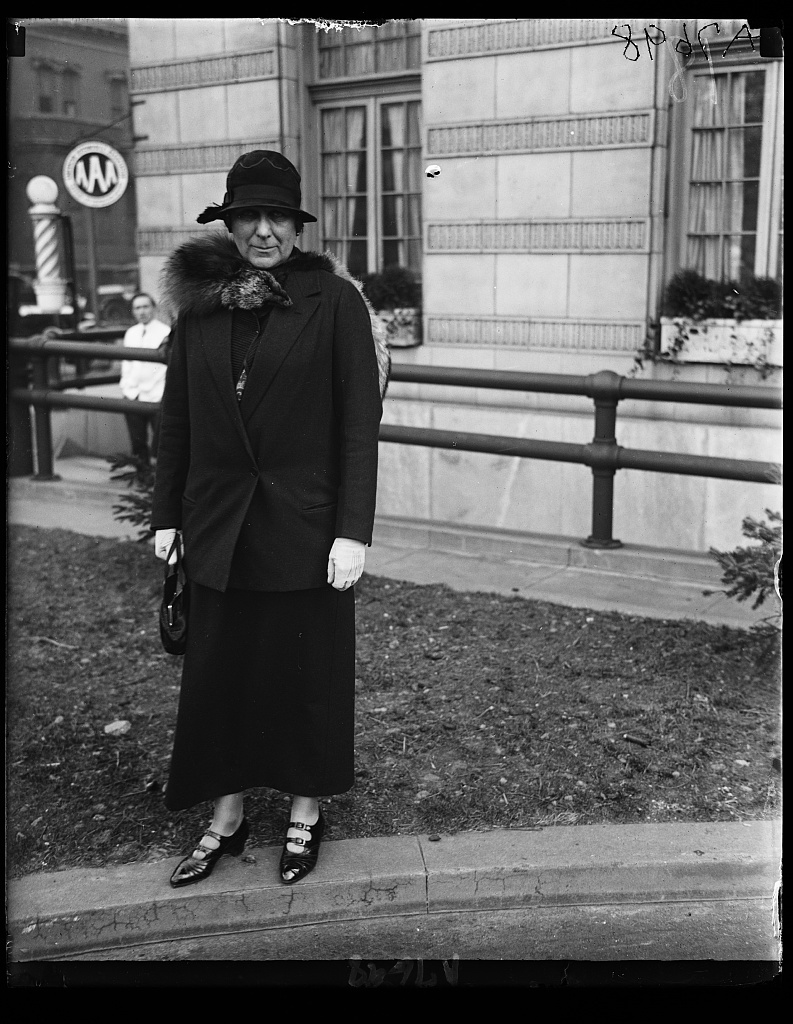 Mrs. J. Borden Harriman of N.Y. Proxy for Mrs. R.R. Purcell of Montana