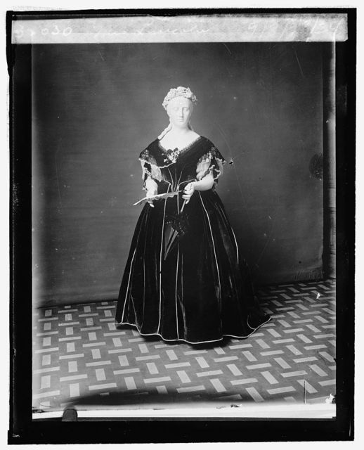 Mrs. Lincoln [inaugural dress from First Ladies Collection], 9/3/2[4]