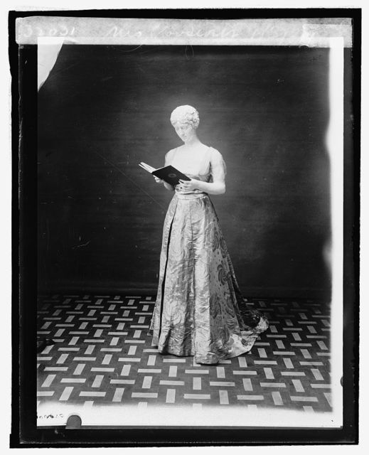 Mrs. Roosevelt [inaugural dress from First Ladies Collection], 9/3/[24]