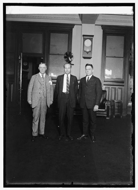 P.M.G. New, Carl B. Eielson, Act. 2nd Asst. P.M.G. Chas. C. Gore