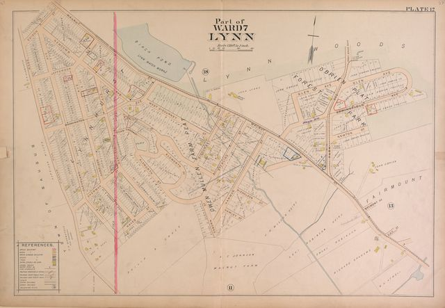 Richards standard atlas of the city of Lynn and the towns of Swampscott, Saugus and Nahant, Massachusetts : from official records, private plans and actual surveys /