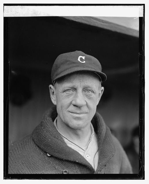 Roth, Coach Cleveland, 1924